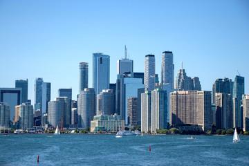 Toronto skyline and skyscrapers