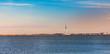 Leinwanddruck Bild - Skyline of Lelystad