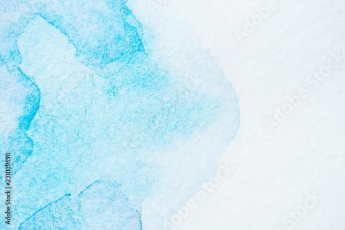 streszczenie ręcznie robione turkus tło z miejsca na kopię