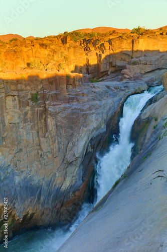 Augrabies falls in the Orange river in South Africa - 231013421