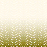 Geometric modern vector pattern. Golden ornament with white dotted elements. Geometric abstract pattern - 231018046