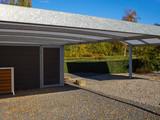Modern carport car garage parking - 231026691