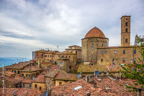 Volterra old town in Tuscany - 231026892