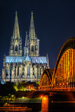 Cologne Cathedral and Hohenzollern Bridge - 231027631