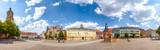 Eisenach, Marktplatz, Panorama mit Georgenkirche  - 231042849