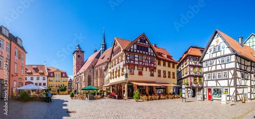 Schmalkalden, Markt und Stadtkirche