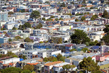 Aerial view of a residential district of San Francisco - 231061213