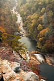 Tallulah River at Tallulah Gorge State Park in Georgia USA