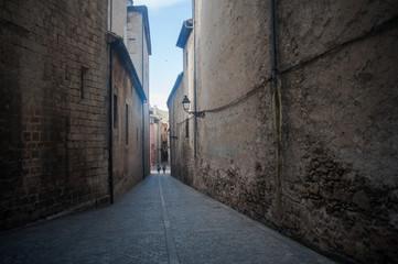Ruelle de Gérone en Catalogne © Maxence