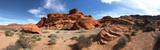 Panorama of Red Rocks of Arizona or Nevada