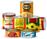 Set of canned food - 231091240