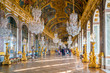 Leinwanddruck Bild - The hall of mirrors in Palace of Versailles