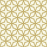 Seamless ornament in arabian style. Geometric abstract golden background. Pattern for wallpapers and backgrounds - 231122045