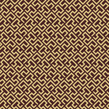 Seamless background for your designs. Modern ornament. Geometric abstract golden pattern - 231122465