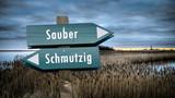 Schild 382 - Sauber - 231131679