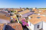 toits d'Aigues-Mortes, Camargue, France