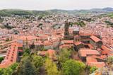 Cathédrale Notre-Dame-du-Puy centre ville Puy en velay France - 231188490