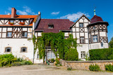 The Horse Stable built at near the Castle Ksiaz, Hochbergs residence, Lower Silesia, Poland, Europe. - 231195064