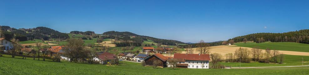 Beautiful view near Viechtach-Bavaria-Germany © Martin Erdniss
