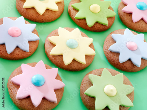 Wall mural EASTER COOKIES / BISCUITS