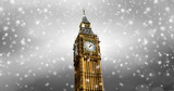 Schneefall in London - 231209001