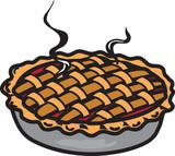 Cherry pie icon