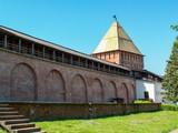 Veliky Novgorod.  Pokrovskaya tower