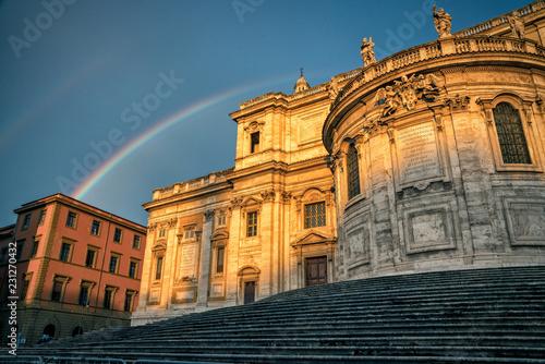 Rainbow in Rome