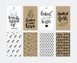 Bakery Gift Tags in Vector