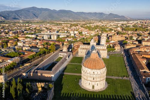 Leinwanddruck Bild Field of Miracles - Pisa - Italy