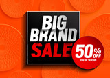big brand sale, vector illustration. - 231290090