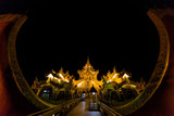 Karaweik Palace Restaurant at Yangon (Rangoon) in Myanmar (Burma) - 231350009