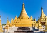 Sandamuni Pagoda temple at Mandalay city in Myanmar (Burma) - 231351485