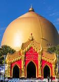 golden dome of the Kaunghmudaw Pagoda Sagaing Myanmar (Burma) - 231351895