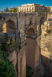 Ronda hanging cliff house in SPAIN