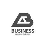 creative strong initial letter ab logo vector concept - 231370402