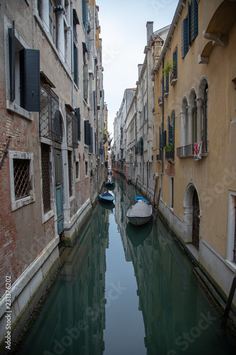 Venice Italy Street Canal Architecture Feature - 231376202