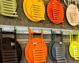 Colorful Metal Patio Furniture - 231386895
