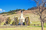 Church in the small rural town of Nicasio, CA.(USA) - 231394249