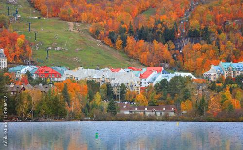 Mont Tremblant resort in Quebec