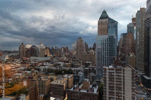 Foto Murales General view of midtown Manhattan, New York