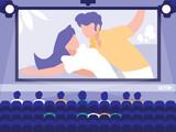 cinema display scene icon - 231418088