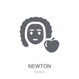 Newton icon. Trendy Newton logo concept on white background from Science collection