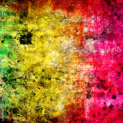 abstract grunge background in rainbow colors - 231451806