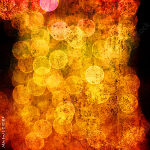 abstract grunge background in rainbow colors - 231451839