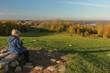 schöner Blick auf den Naturpark Westensee vom Aussichtsberg Tüteberg