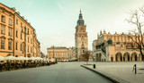 Panorama of Krakow old town, Poland - 231458897