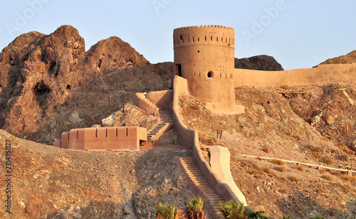 ancient fortress in muscat