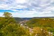 Aussicht auf Lichtenstein Nähe Schloss Lichtenstein, Schwäbische Alb