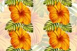 Hawaiian tropic jungle endless print. - 231520818